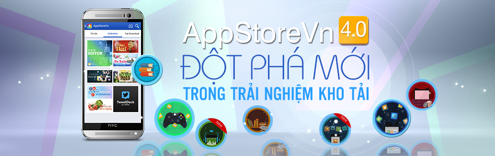 AppStoreVn 4.0 trải nghiệm mới đột phá mới