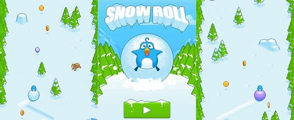 Snow Roll - Hậu duệ của huyền thoại Flappy Bird ảnh 1
