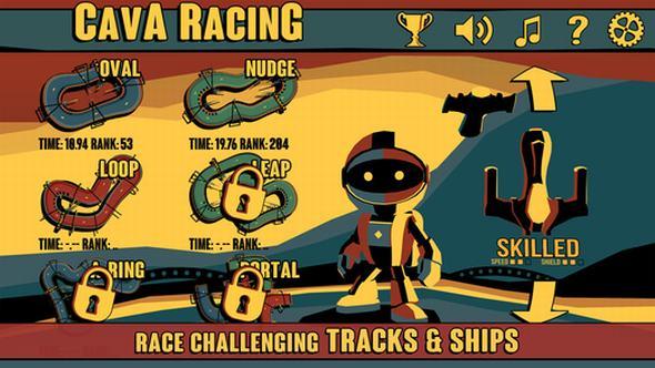 Thử sức với game đua phi thuyền Cava Racing ảnh 3