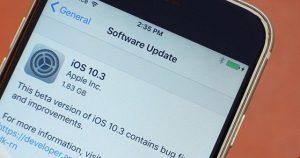 Apple chính thức ra mắt iOS 10.3: Cập nhật bản mới như thế nào?(1)