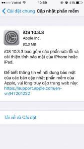 Apple chính thức phát hành iOS 10.3.3: Cập nhật bản mới như thế nào? (2)