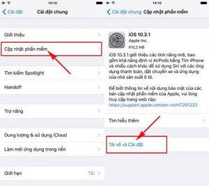 Hướng dẫn cách update iOS 10.3.1 cho iPhone, iPad bằng iTunes, OTA (3)