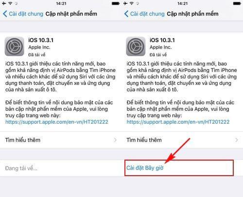 Hướng dẫn cách update iOS 10.3.1 cho iPhone, iPad bằng iTunes, OTA (4)