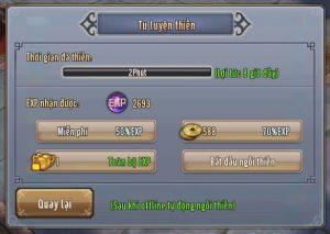 Ỷ Thiên 3D: Hướng dẫn cách tăng cấp nhanh cho tân thủ (5)