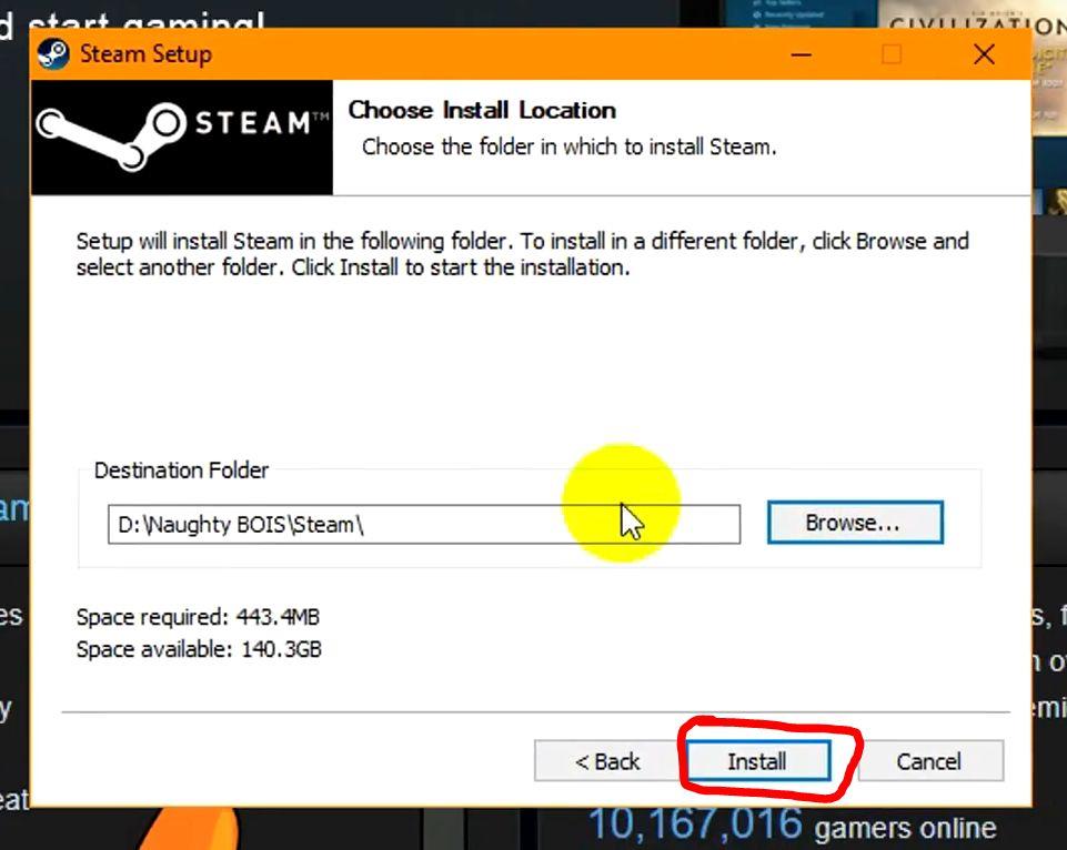 Hướng dẫn cách cài đặt và đăng ký tài khoản Steam trên PC (2)