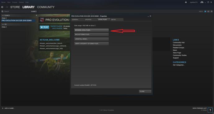 Hướng dẫn cách hack IP để tải game PES 2018 trên Steam cho PC (6)