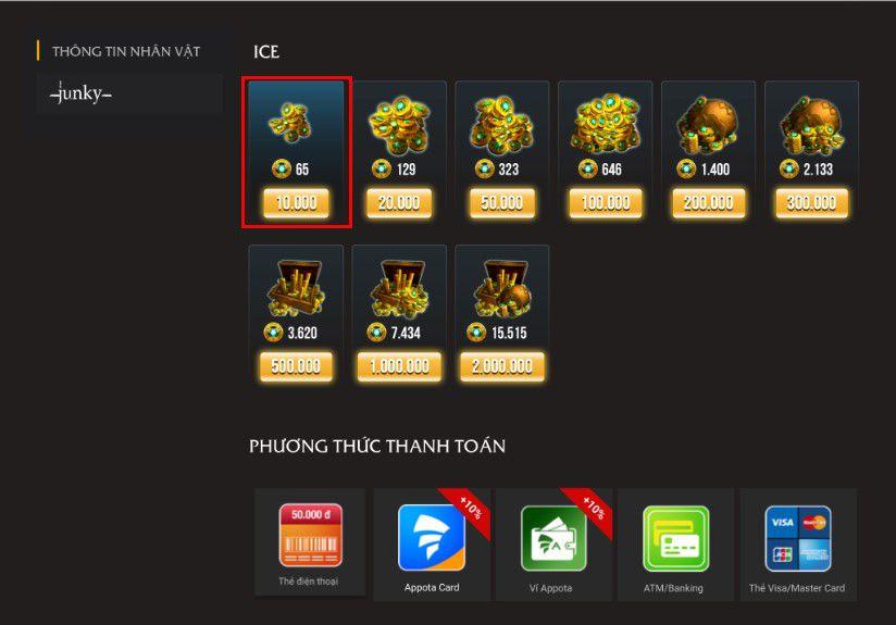 Ví Appota - Cổng nạp Vainglory: Sự lựa chọn hoàn hảo cho game thủ (2)