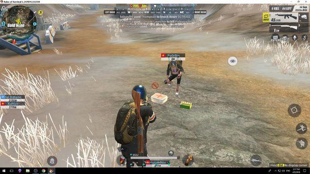 4 điều game thủ cần biết nếu muốn lấy TOP 1 game Rules Of Survival (4)