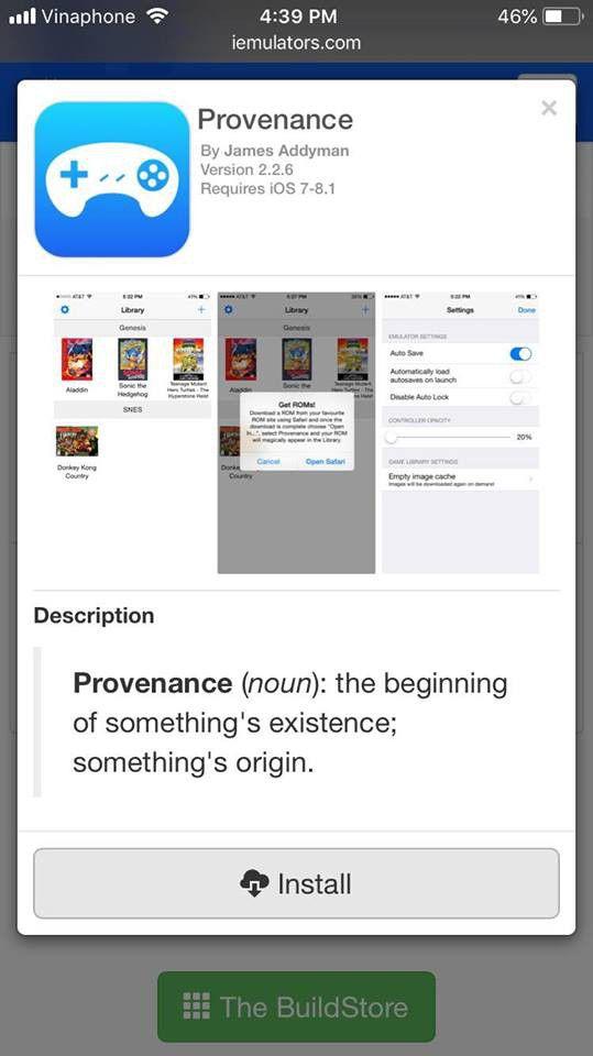 Hướng dẫn chơi game giả lập trên iOS 11.3 mà không cần Jailbreak (2)