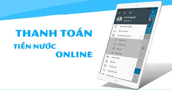 Tổng hợp những ứng dụng thanh toán tiền nước online trên điện thoại (1)