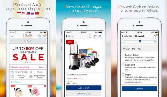 Top 5 ứng dụng thương mại điện tử mua sắm tốt nhất cho Android (2)