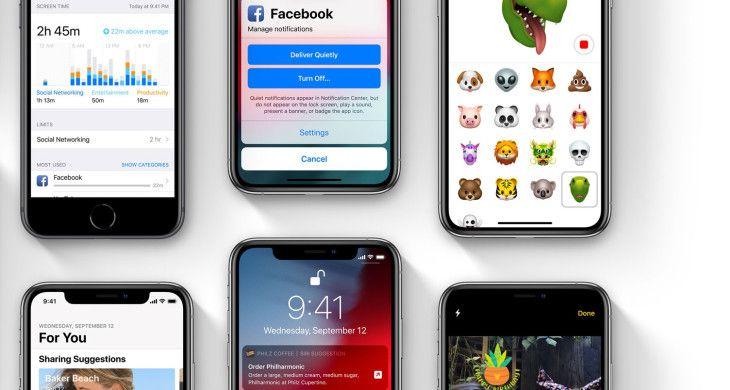 Hướng dẫn cách nâng cấp (cập nhật) iOS 12 chính thức cho iPhone, iPad (1)