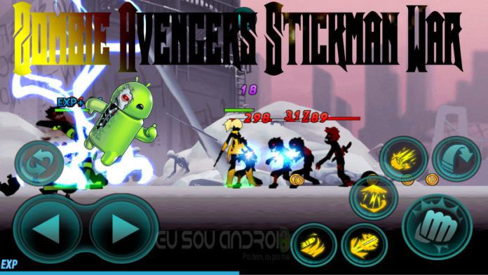 Tải game Zombie Avengers Stickman War Z hack Mod tiền cho Android