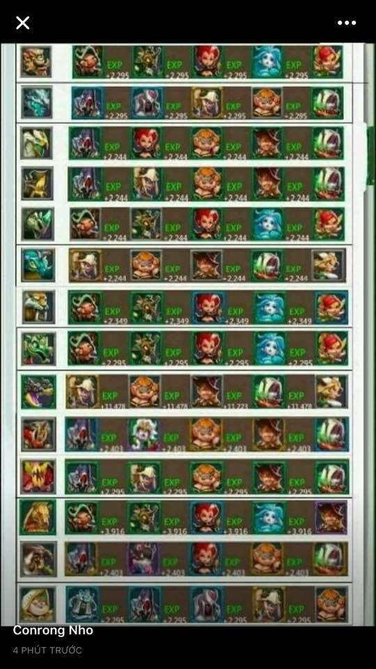 Bảng đội hình tướng mạnh săn quái trong game Lords Mobile (2)