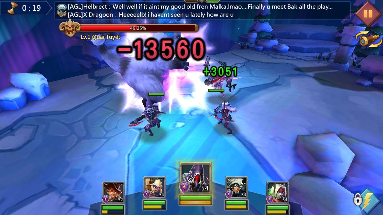 Bảng đội hình tướng mạnh săn quái trong game Lords Mobile (4)
