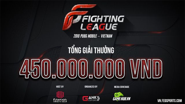 Giải đấu PUBG Mobile Việt Nam 2018 ra mắt với tổng giải trưởng gần 20.000$ (1)