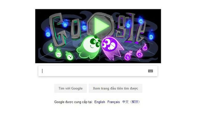 Hướng dẫn chơi game Spooky Doodle của Google dịp Halloween (1)