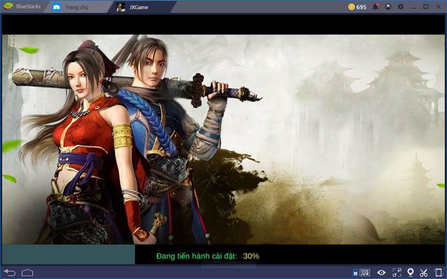 Hướng dẫn tải và cài đặt game Võ Lâm Truyền Kỳ 1 Remake Mobile trên PC (3)