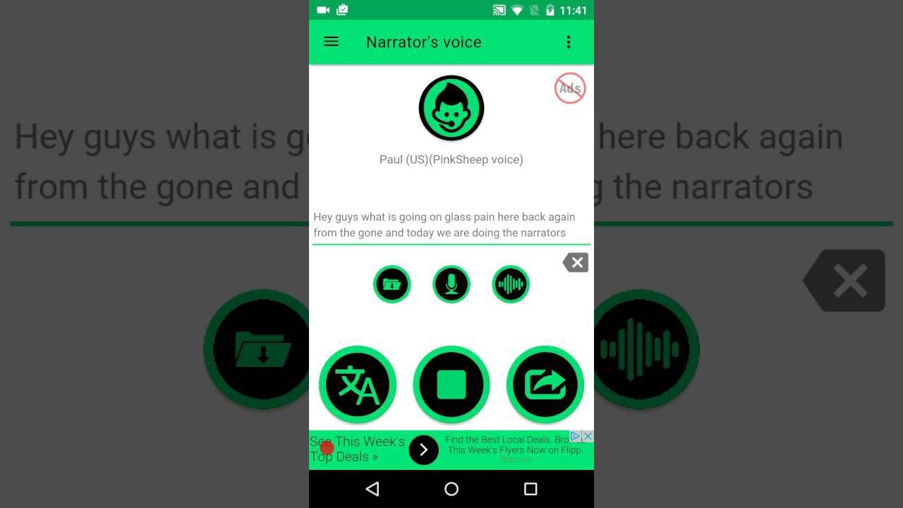 Top 7 ứng dụng (phần mềm) chuyển văn bản thành giọng nói cho Android (3)