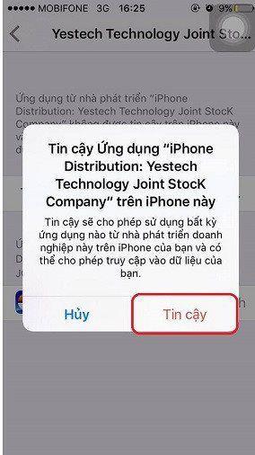Cách cài đặt Võ Lâm Truyền Kỳ I mobile cho Iphone từ thế hệ 6S trở lên (8)