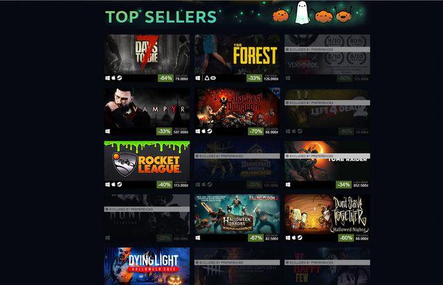 Halloween Sale Steam 2018: List game bản quyền giảm giá lên tới 80% (2)