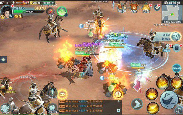 Top game mobile online hay mới ra mắt tại Việt Nam tháng 10/2018 (2)