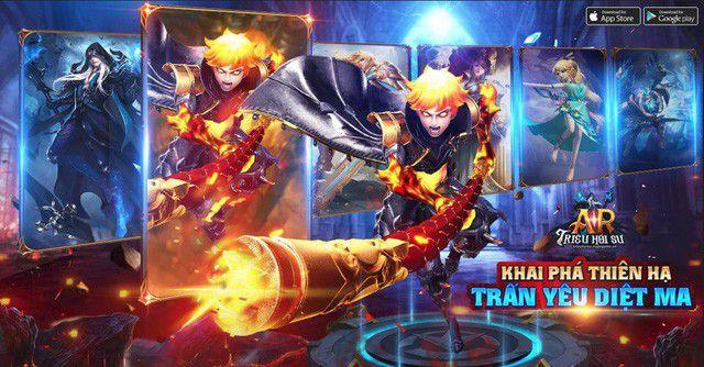 Top game mobile online hay mới ra mắt tại Việt Nam tháng 10/2018 (6)