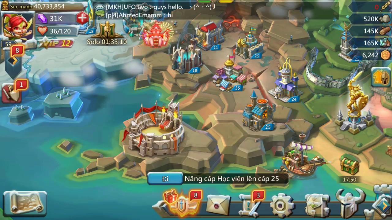 Hướng dẫn chiến thuật cơ bản của tân thủ Lords Mobile | Mẹo chơi (6)