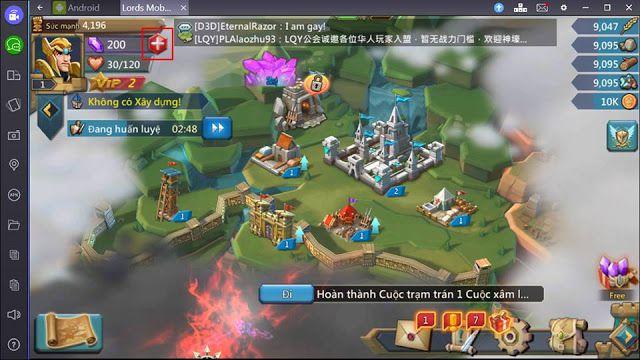 Hướng dẫn chơi game Lords Mobile trên máy tính PC bằng Bluestacks (16)