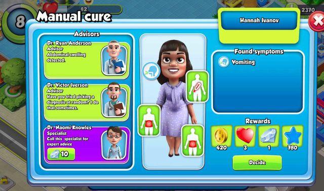 Dream Hospital: Game mô phỏng chiến lược xây dựng & quản lý bệnh viện (3)