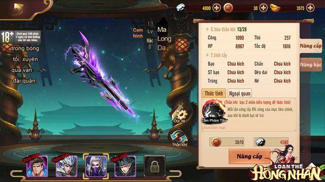 Kinh nghiệm build đội hình Loạn Thế Hồng Nhan giúp tăng lực chiến (7)