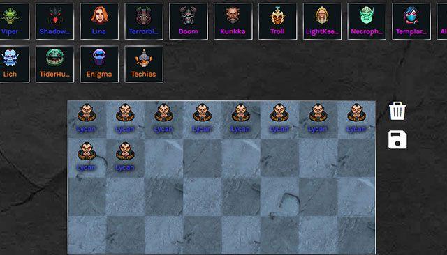 Top 10 tướng mạnh nhất được yêu thích khi chơi Dota Auto Chess (1)