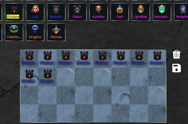 Top 10 tướng mạnh nhất được yêu thích khi chơi Dota Auto Chess (2)