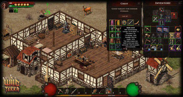 Wild Terra: Game online nhập vai kỳ quặc 'không NPC' chính thức free (3)