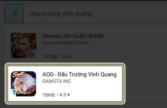Cách tải và cài đặt Đấu Trường Vinh Quang bằng giả lập Android (3)