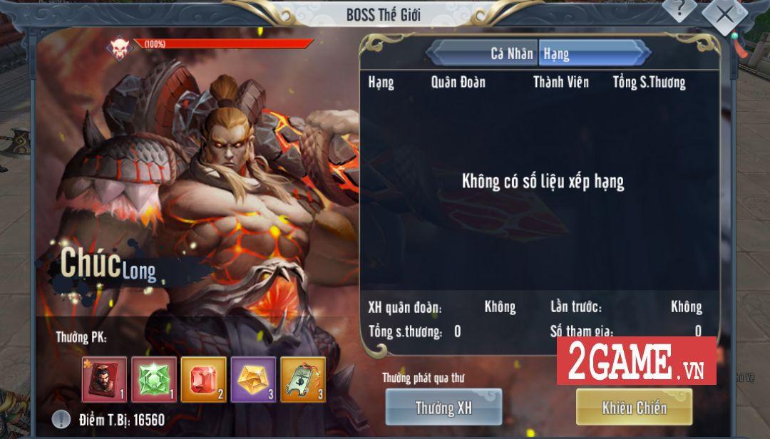 Những hoạt động 'khó nhằn' trong game Thần Long Tam Quốc Mobile (1)