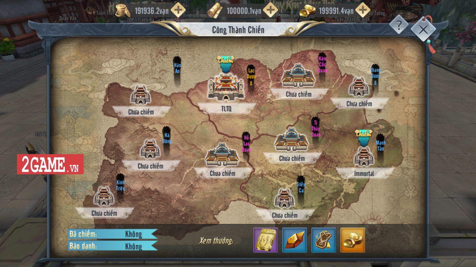 Những hoạt động 'khó nhằn' trong game Thần Long Tam Quốc Mobile (2)