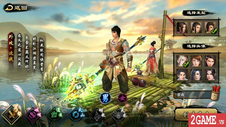 Tìm hiểu về các môn phái trong gameTân Thiên Long Mobile VNG (1)