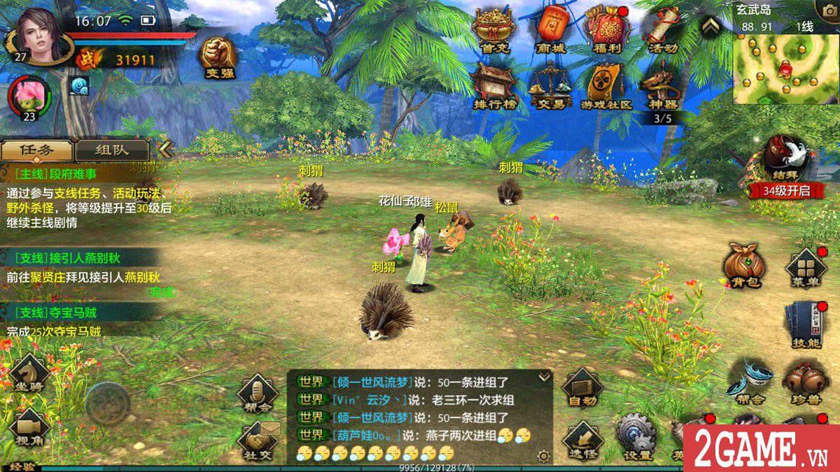 Tìm hiểu về các môn phái trong gameTân Thiên Long Mobile VNG (8)