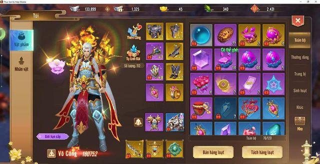 Cách chơi Thanh Thành theo hướng PK siêu bạo kích trong Thục Sơn Kỳ Hiệp Mobile (3)
