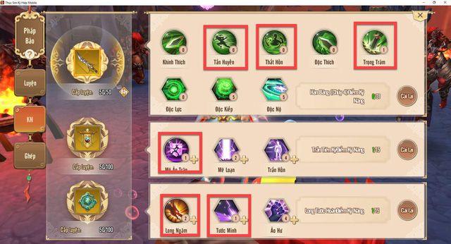 Cách chơi Thanh Thành theo hướng PK siêu bạo kích trong Thục Sơn Kỳ Hiệp Mobile (7)