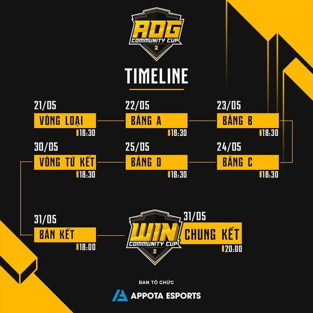 Timeline & thông tin chi tiết về giải đấu AOG – Community Cup 2 (1)