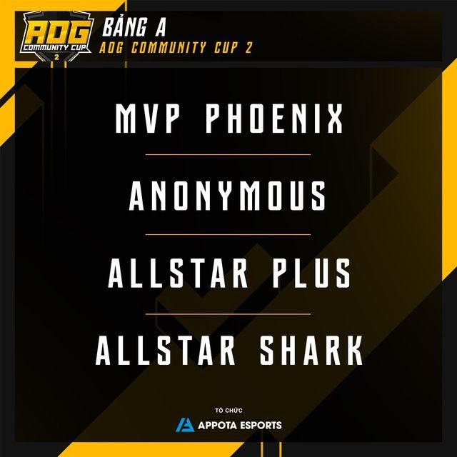 Timeline & thông tin chi tiết về giải đấu AOG – Community Cup 2 (2)