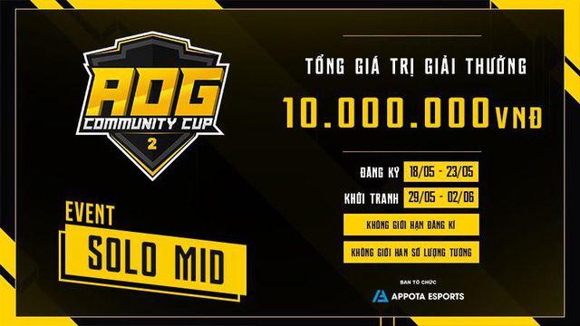 Timeline & thông tin chi tiết về giải đấu AOG – Community Cup 2 (6)
