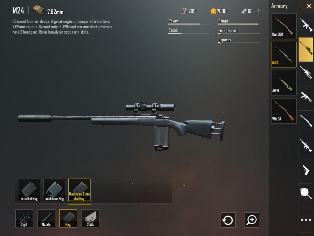 Top các loại súng bắn tỉa sniper mạnh nhất, tốt nhất trong PUBG Mobile (2)