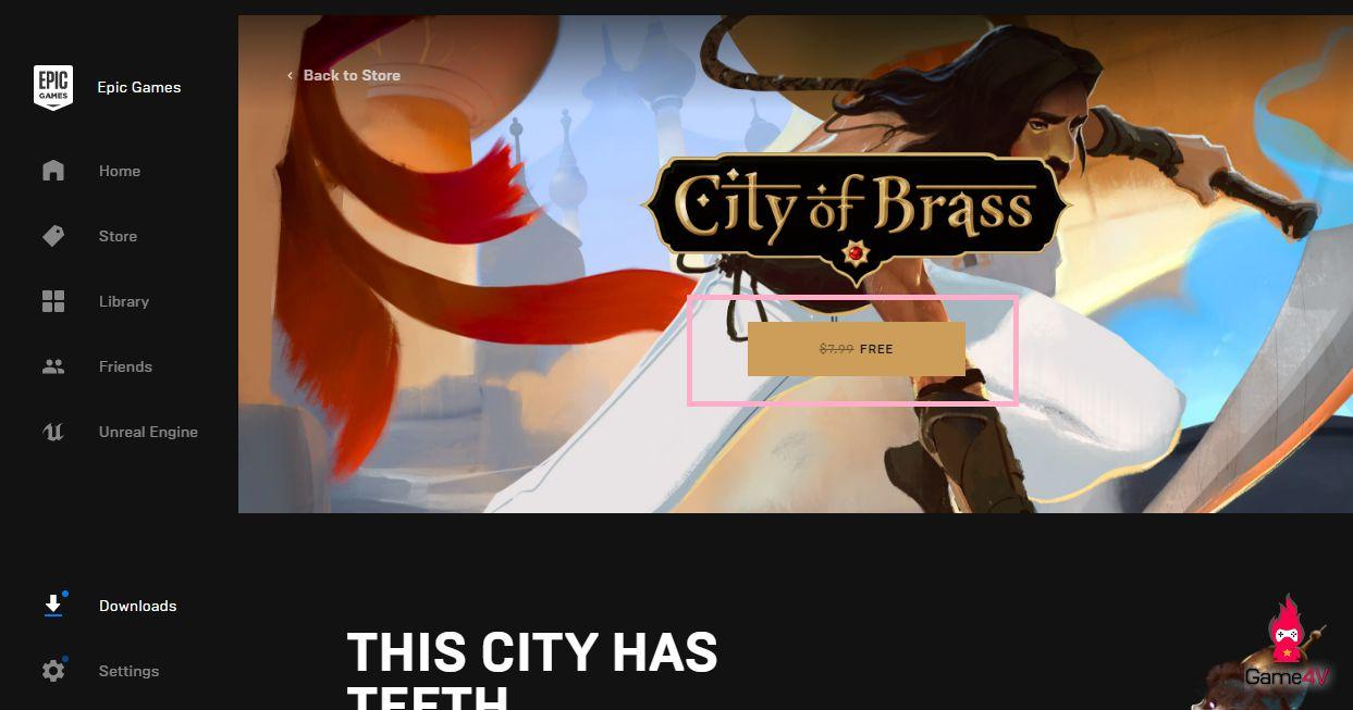 Hướng dẫn cách nhận miễn phí tựa game hành động City of Brass (5)