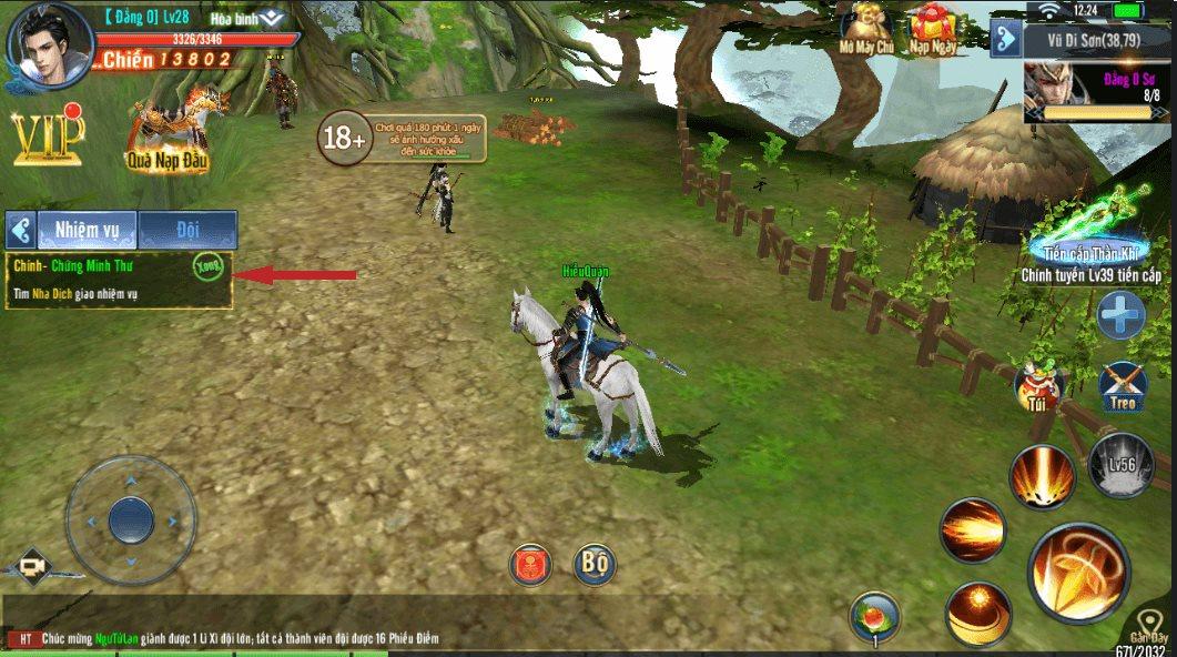 Mẹo chơi, cách chơi Hành Tẩu Giang Hồ Mobile dành cho tân thủ (1)