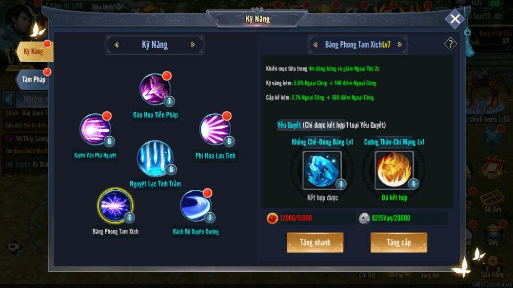 Mẹo chơi, cách chơi Hành Tẩu Giang Hồ Mobile dành cho tân thủ (11)