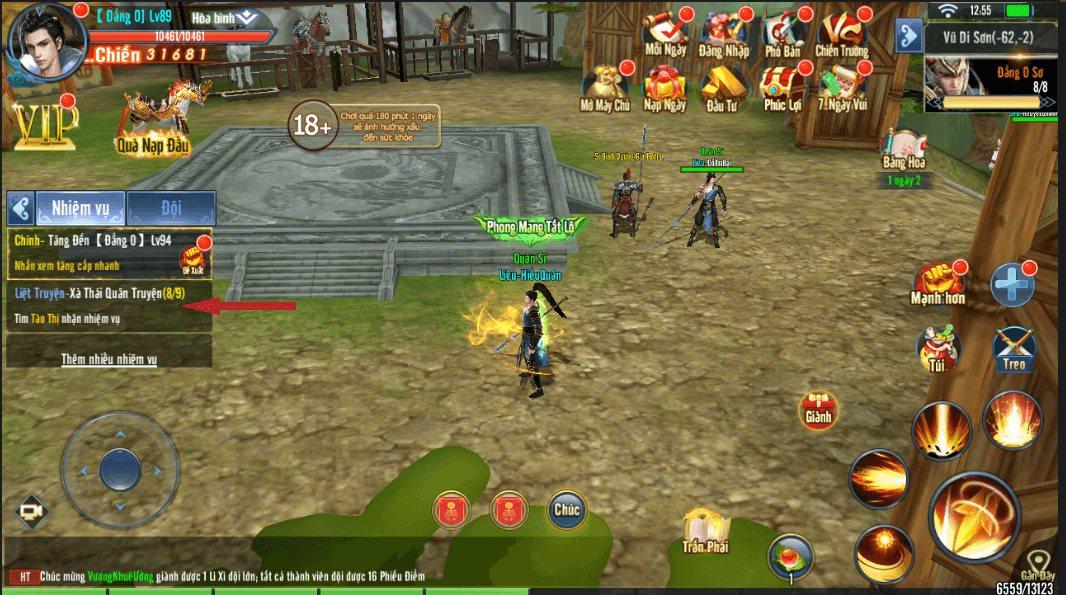 Mẹo chơi, cách chơi Hành Tẩu Giang Hồ Mobile dành cho tân thủ (3)