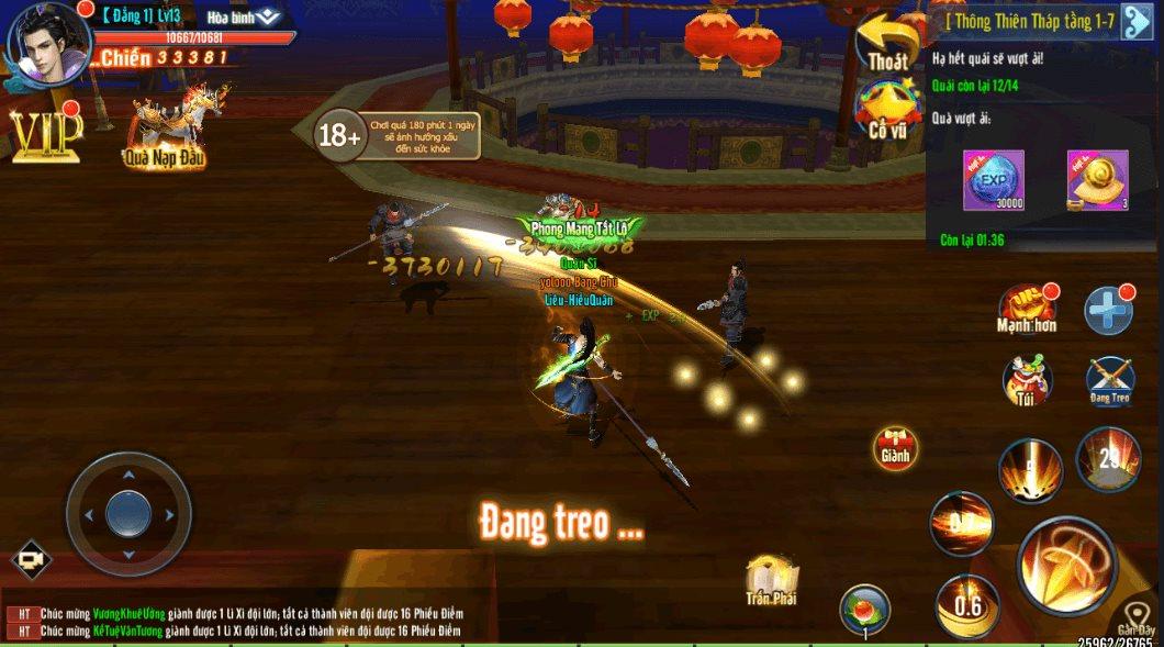 Mẹo chơi, cách chơi Hành Tẩu Giang Hồ Mobile dành cho tân thủ (4)
